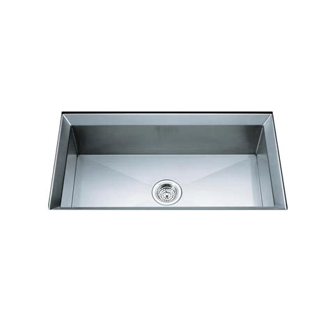 kohler poise undermount stainless steel 33 in single bowl