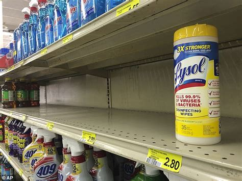 stocks  hand sanitizer lysol  clorox wipes wont return  normal  august experts