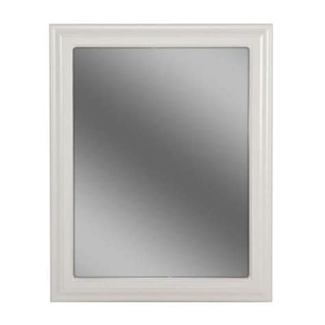 white frame bathroom mirror bathroom white frame mirror bathrooms pinterest