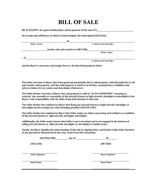 15 Bill Of Sale Template The Principled Society Free Bill Of Sale Template