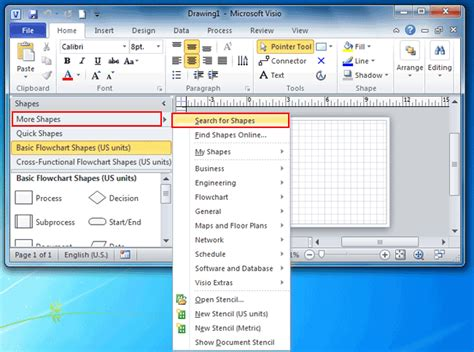 cloud for visio where is the cloud shape in visio 2010