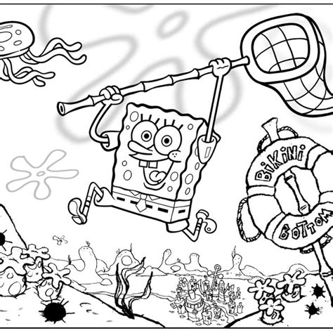 spongebob coloring pages download download spongebob coloring pages online