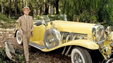 yellow rolls royce great gatsby contact 1920 s cars