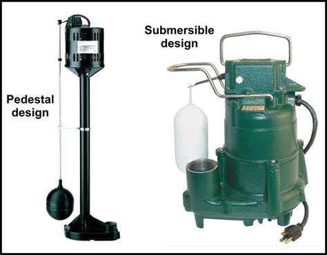 out of sight but important sump pumps