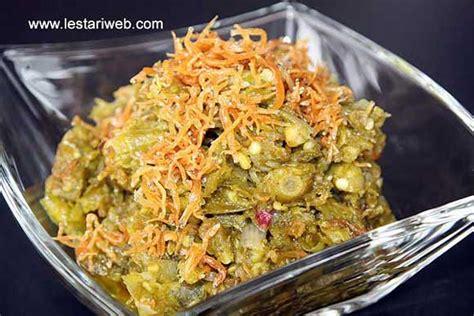 Sambal Ijo Teri Sambel Cabe Hijau Pedas Halal kumpulan resep asli indonesia sambal cabe ijo teri nasi