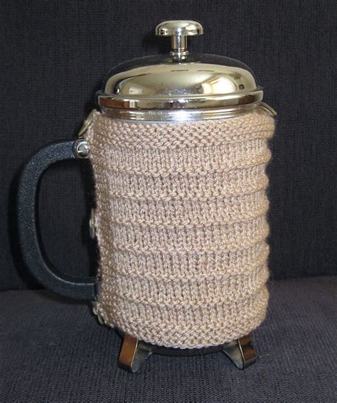 pattern for french press cozy cafetiere french press cosy free pattern by louise