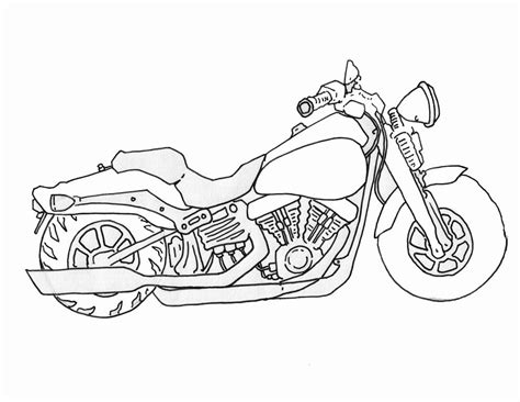 How To Draw A Motorcycle Craft Ideas Drawings Art