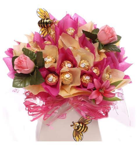 Ferrero Rocher Truf E Bouquet With Silkowers