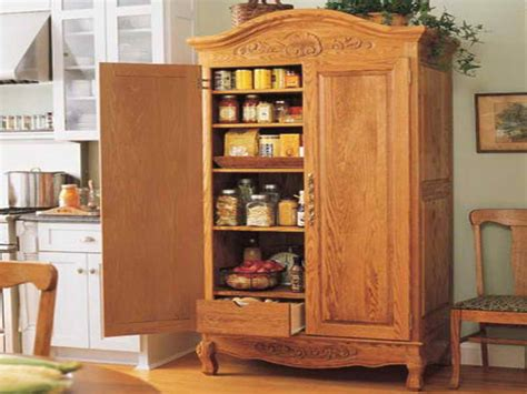 Free Standing Kitchen Pantry Furniture Pantry Cabinet Free Standing Childcarepartnerships Org