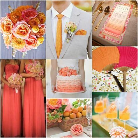 coral and orange wedding decora 231 227 o para casamento wedding coral coral orange and