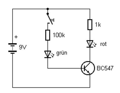 transistor npn als schalter lpelektronik