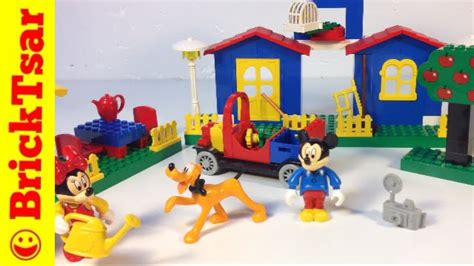 Lego Pluto Disney lego 4167 mickey s mansion disney s mickey mouse minnie pluto