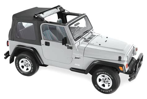 Different Jeep Tops Pavement Ends 44527 15 Flip Top For 97 06 Jeep Wrangler