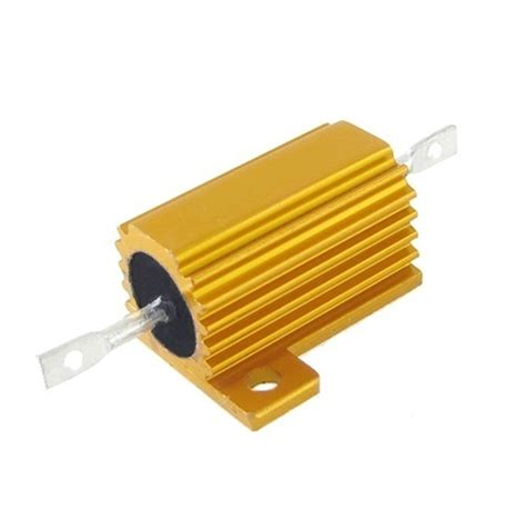rs components wire wound resistor 4 7 ohm aluminium clad power resistor 10w 4 7r 10w