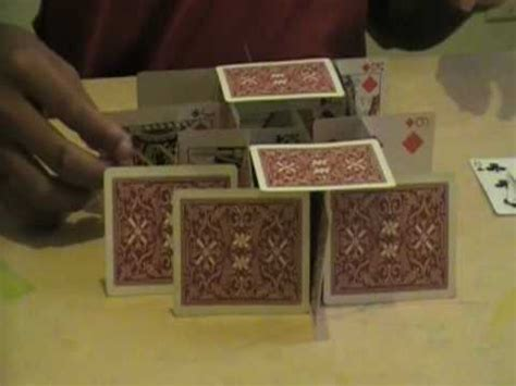 how to make a house of cards how to make a house of cards youtube