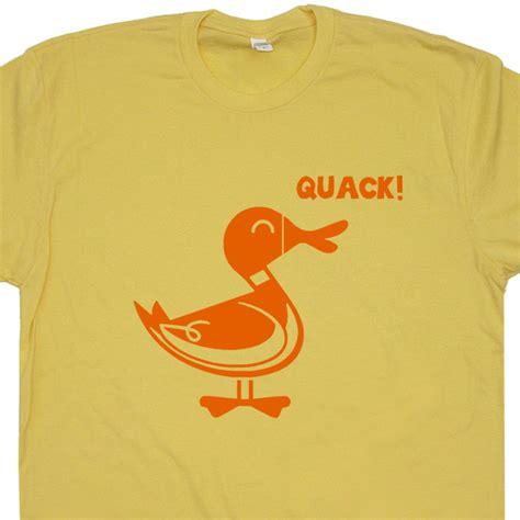 Tshirt Duck duck quack shirt animal shirt donald duck shirt
