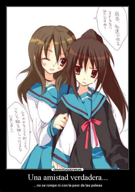 imagenes kawaii de la amistad una amistad verdadera desmotivaciones