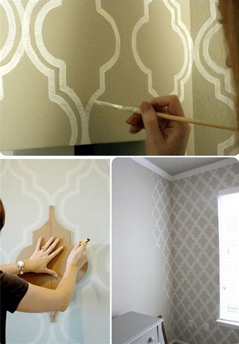 Wand Bemalen Muster by 25 Best Ideas About Wall Paint Patterns On