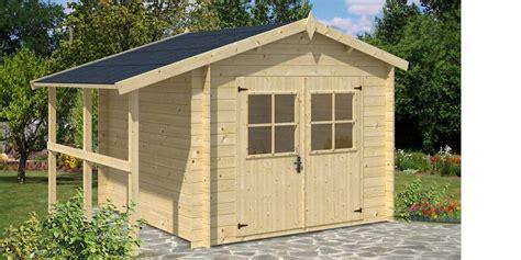 abri de jardin avec appentis bois abri de jardin en bois oslo 10 m2 avec appentis oogarden