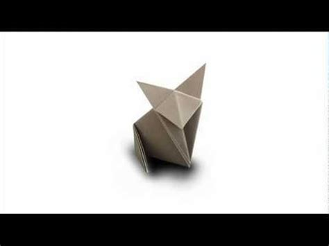 How To Fold An Origami Cat - how to fold an origami cat fox
