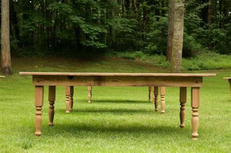 farm tables for rent vintage wedding furniture rentals