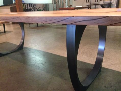 metal legs for wood table best 25 steel table legs ideas on diy metal