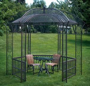 gazebo steel metal roof screened gazebo with metal roof