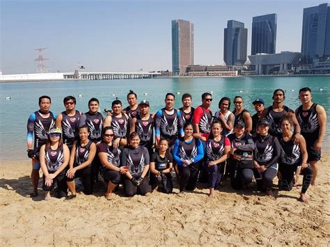 dragon boat racing abu dhabi dubai dolphins bag 2nd chionship title in dragon boat