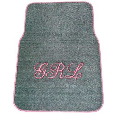 Monogramed Floor Mats personalized car mats monogrammed car mats custom floor