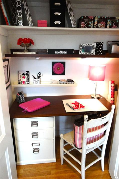 closet office downsize space