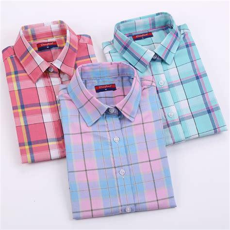 Cotton Plaid Shirt brand new arrival cotton plaid shirt sleeve