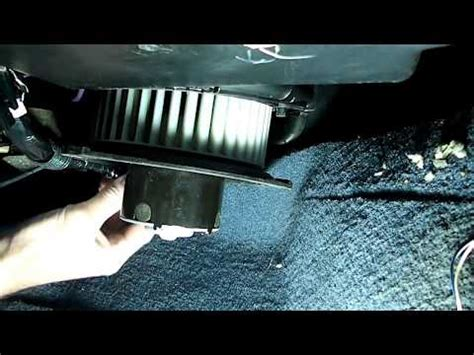 98 silverado blower motor resistor replacement how to replace blower motor resistor in chevrolet silverado how to save money and do it yourself