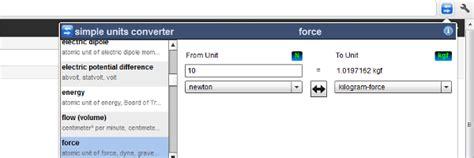 typography unit converter simple units converter effectuez vos conversions dans chrome