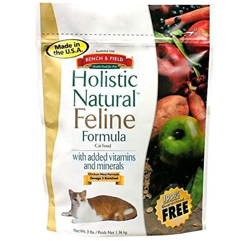 bench and field food reviews bench field holistic natural feline formula cat food