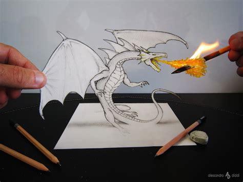 tutorial gambar 3d pencil 国外牛人的3d铅笔画素描图片 素描 爱学艺书画网