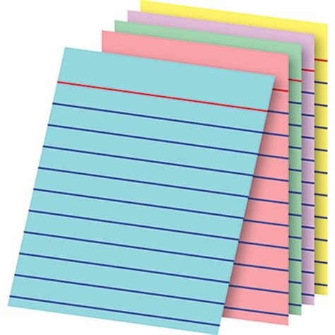 office depot printable note cards office depot brand mini index cards 3 x 2 12 assorted