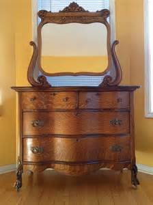 antique bedroom dressers antique tiger oak dresser 1920 s for the home