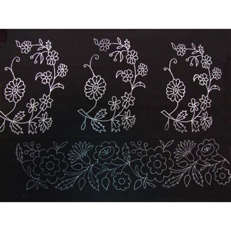 cenefas para bordar falda pintada para bordar modelo ramos con cenefa