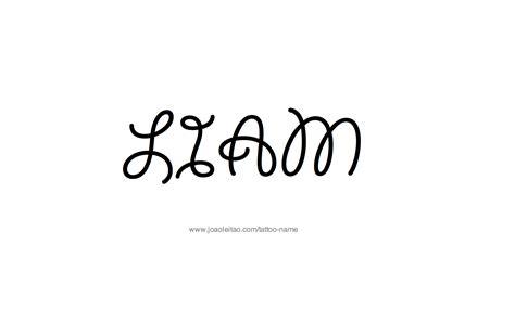 tattoo name liam liam name tattoo designs