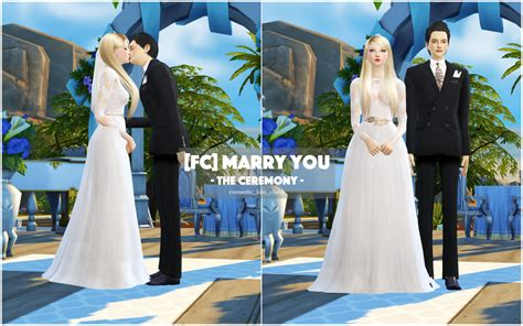 how to set up a wedding in sims 3 fc you by flowerchamber