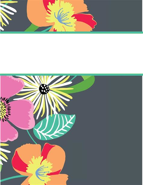 easy printable binder covers search results for free binder cover templates
