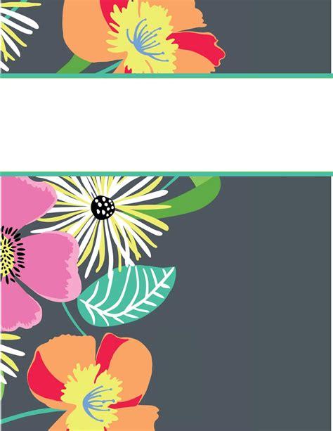 Vera Bradley Printable Binder Covers | my cute binder covers happily hope