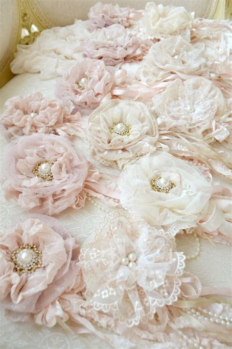 how to make shabby chic flowers out of fabric best 25 shabby chic flowers ideas on shabby
