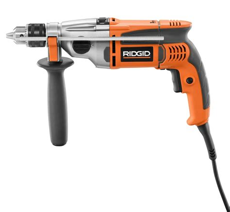 ridgid 1 2 inch two speed heavy duty hammer drill the