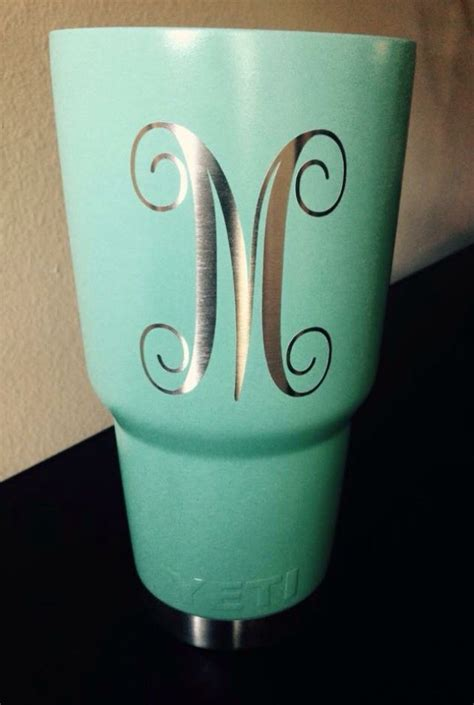 cup designs custom yeti rambler in robin s egg blue cerakote call