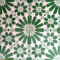 Carreaux De Ciment Vert by Carreau En Ciment 1m2 Modele Anso Vert Carrelage Mosaique