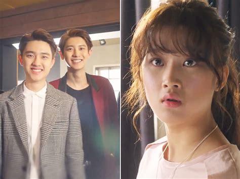 cerita film exo next door akhir exo next door chanyeol vs d o siapa yang dipilih
