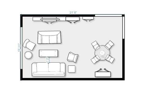 family room floor plans small living room ideas