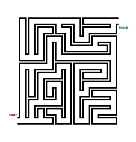 printable easy maze puzzles mazes to print easy tubular mazes