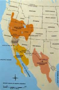america map deserts ecobiology 1 sky islands science